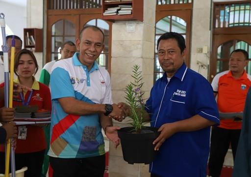 Tim PSN Tingkat Kota Jakut Pantau Lingkungan RW 010 Sunter Agung