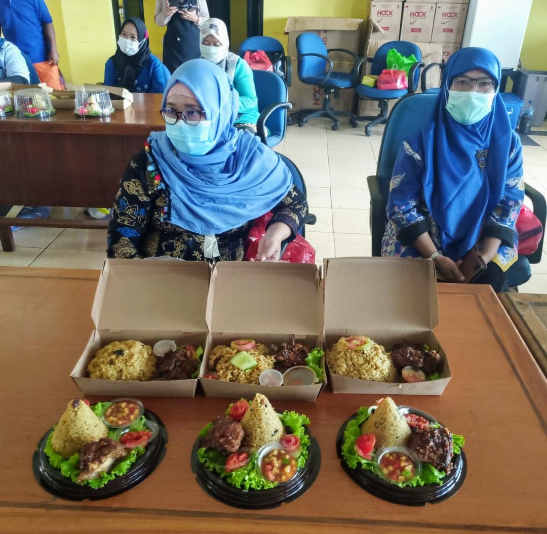 Tingkatkan Perekonomian Dan Menjauhkan Narkoba, Kelurahan Pademangan Timur Dan BNN Kota Jakarta Utara Beri Pelatihan Tata Boga
